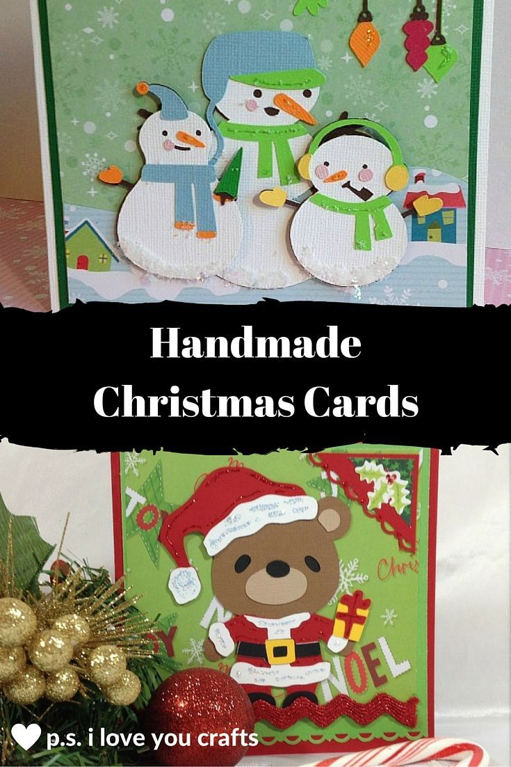 Copy these handmade Christmas cards and impress your friends. They will be excited to receive a Handmade Christmas Greeting Card from you this year.