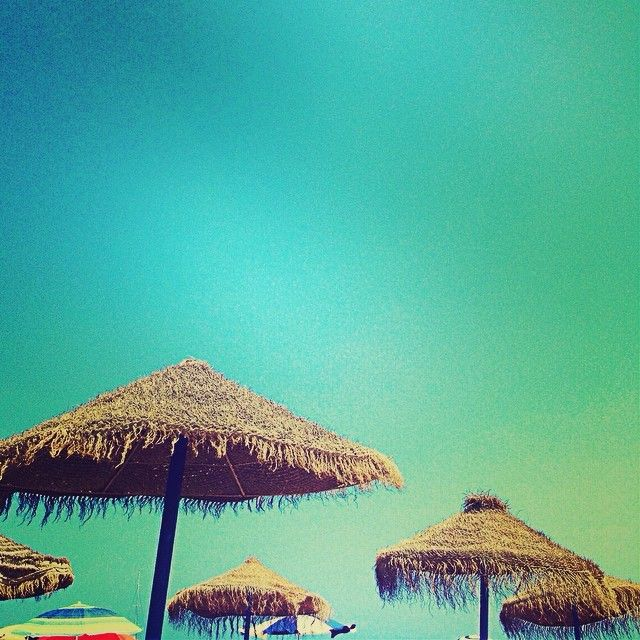 #Blue #Umbrella #Summer #Color #Instacolor #Mediterranean #AunionCreatividad #Aunion #Sea #Malvarosa #Trip #Viaje #Spain #Me #Picsplay #Sun #Calor #Sand #Valencia #Beach ©www.aunioncreatividad.com