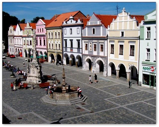 Česko, Třeboň - Náměstí
