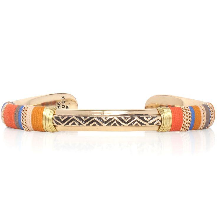 Bracelet Massai Doré Gas bijoux