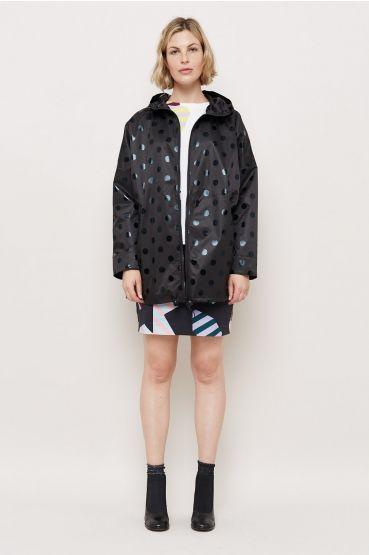 Gorman black dot raincoat
