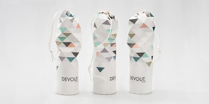 Concept: DEVOUT. Champagne — The Dieline - Branding & Packaging