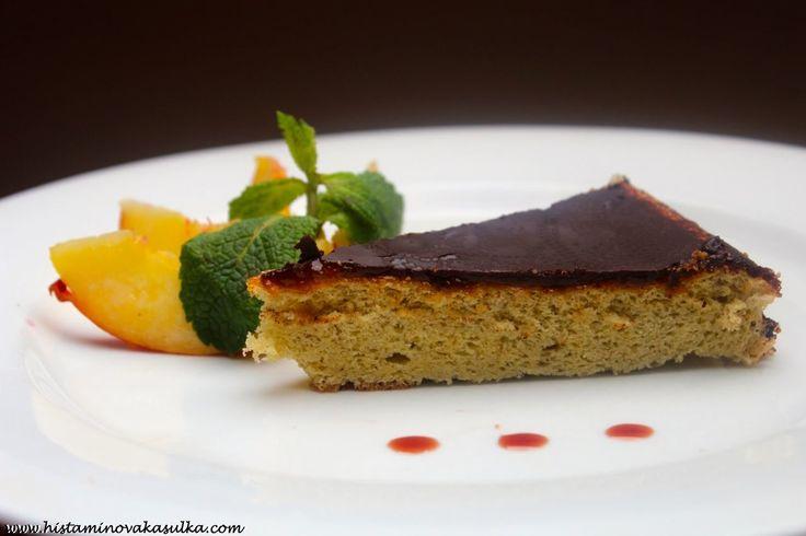 Čirokový piškot s marmeládou (a čokoládovou polevou)