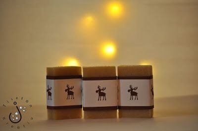 Karácsonyi vaníliás kifli szappan