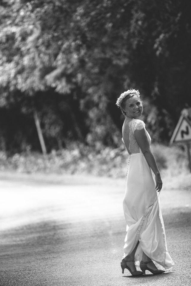 Robe de mariée bohème - Robe Marion : Stephanie Wolff - Photo Pierre Atelier - La Fiancée du Panda blog Mariage et Lifestyle