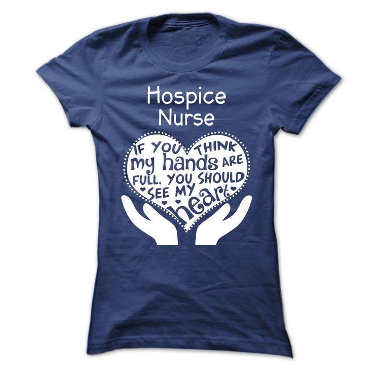 T-shirt for Hospice nurses.