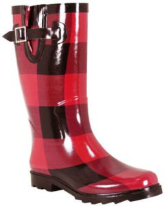 Buffalo Plaid boots @ http://countrydesignhome.com/2012/05/04/whats-in-a-name/
