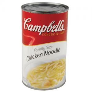Check out these Campbell's Chicken Noodle Soup Hidden Safe Cans. They look identical to the real cans of Campbell's Chicken Noodle Soup. But they are really fake diversion can safes in disguise.