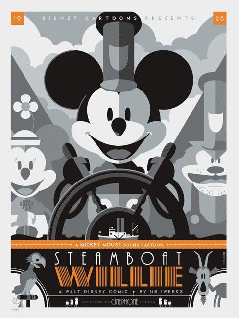 Os incríveis posters vetorizados de Tom Whalen - Choco la Design | Design é como chocolate, deixa tudo mais gostoso.