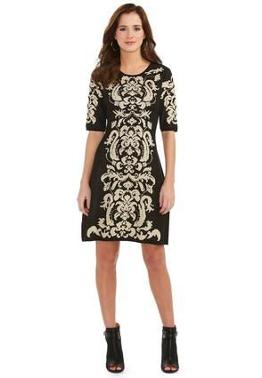 Catofashions.com Clearance Cato Fashions Metallic Scroll