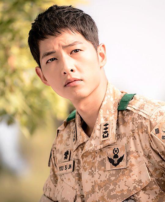 Descendants of the Sun - Song Joong Ki as Yoo Shi Jin