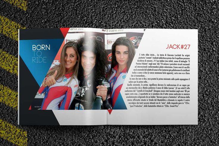 Progetto grafico Brochure Giacomo Lucchetti
