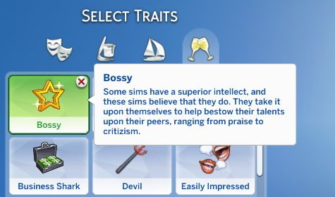 Bossy Trait by SimsOMedia at SimsWorkshop • Sims 4 Updates