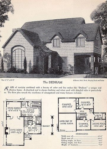 1928 home builders catalog the dedham catalog vintage Home builders com