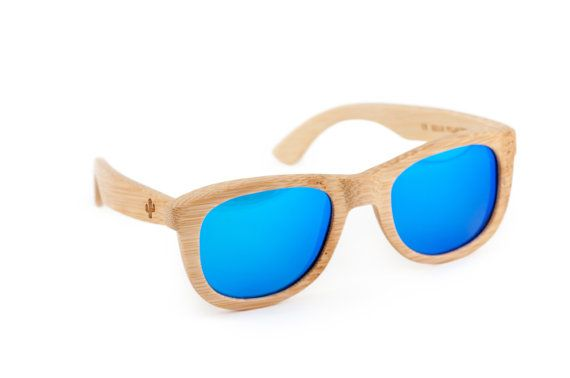 Prickly Cactus Wooden Sunglasses Bamboo от WoodenAccessoriesCo