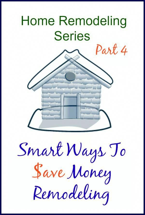 Smart ways to save money remodeling – Simple and Cheap Home Repairs
