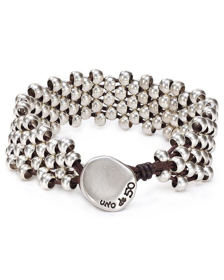 Uno de 50 Slipping Bead Bracelet | Bloomingdale's