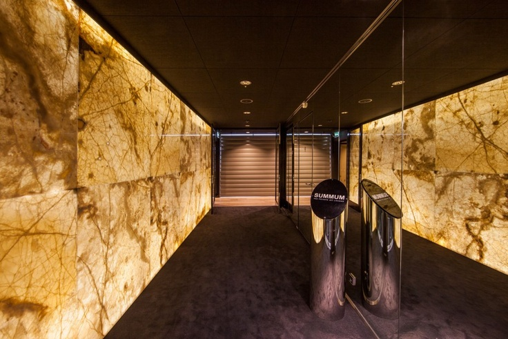 Lighting Behind Onyx Marbles : Marble wall with light behind it by solid nature