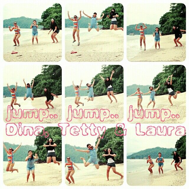 jump at Kiluan Bay
