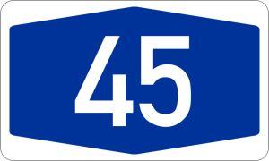 Vollsperrung der A 45 zwischen Witten und Dortmund-Süd in den Osterferien