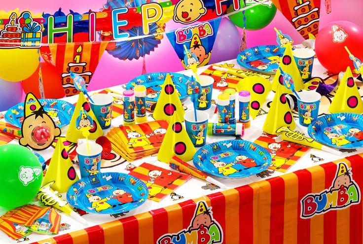 Mooie sfeer foto van Bumba de Clown feestartikelen en versieringen.