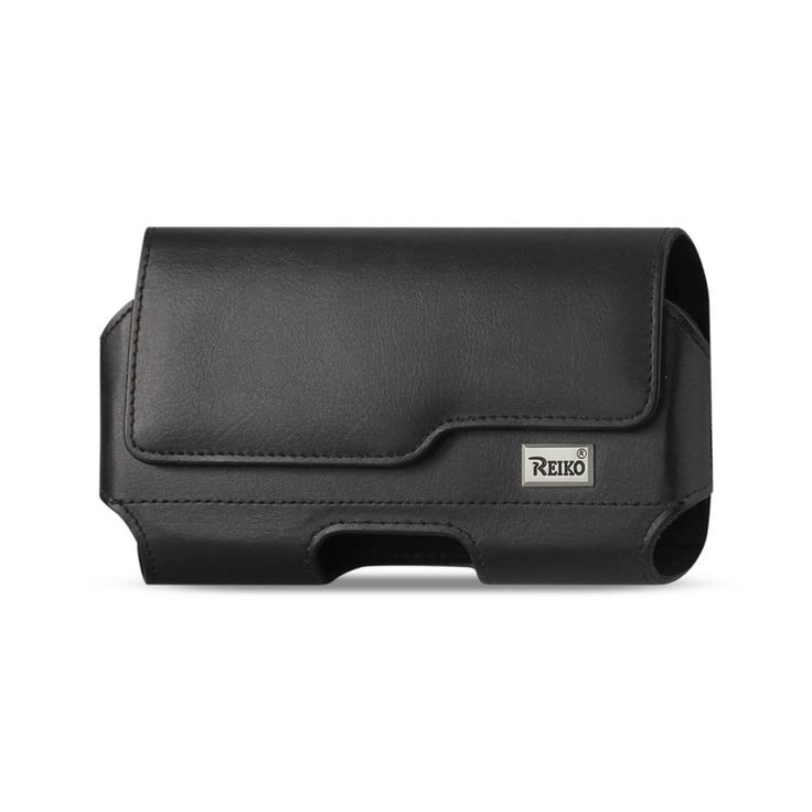 Reiko HORIZONTAL LEATHER POUCH XXL WITH Z LID PATTERN EMBOSSED LOGO IN BLACK. Made with belt loops and hoops. Built In belt clip and loops for better security. Strong magnetic closure to secure phone In pouch. Horizontal design makes it easier to clip to your belt. Stays close to your body allowing you to feel the vibrate mode clearly. High quality leather like material. Non-scratch inside material with great craftsmanship.Condition : This item is brand new, unopened and sealed in its…