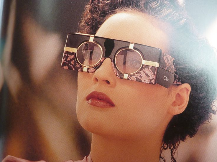 Vintage Cazal Sunglasses Ads, Catalogs and Promo Stuff from the 80s & 90s