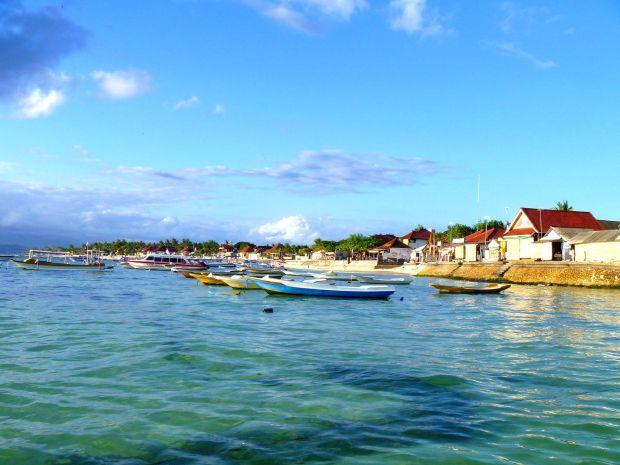 Nusa Lembongan, 30 minutes from Bali, Indonesia.