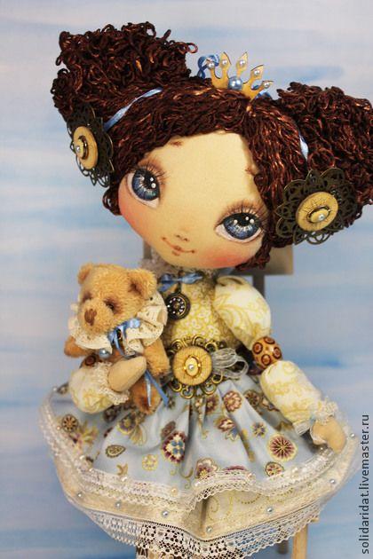 Татьяна Иванова (Краснодар) София, Ангел Заветных Желаний - коллекционная кукла