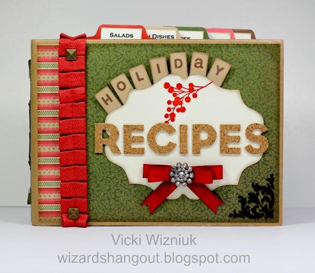 Wizards Hangout: Regionals: Operation Smile Auction – Holiday Recipes Mini Album #CTMH