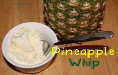 Potpourrimommy: Dole Pineapple Whip- Disney Copycat Recipe