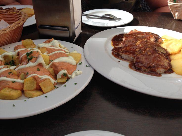 Tapas at Sevilla
