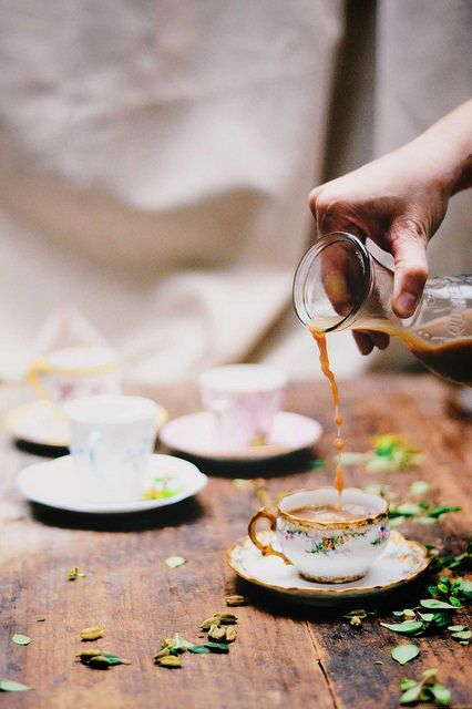 Masala Chai   Chai is a ritual habit for some and Indian houses make masala chai in several different ways. Here are some of my tips on making chai at home. @abrowntable