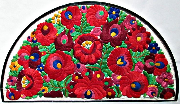 Folk art of the Matyó, embroidery