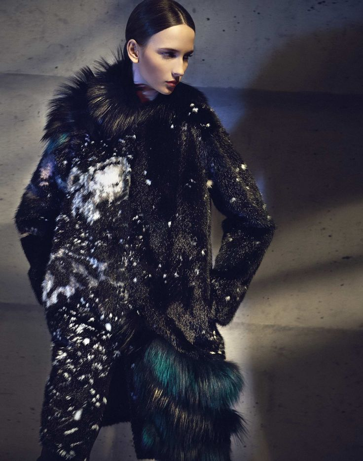 A Fendi Fall/Winter 2014-15 total look
