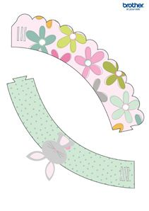 Easter Cupcake Wrapper 1