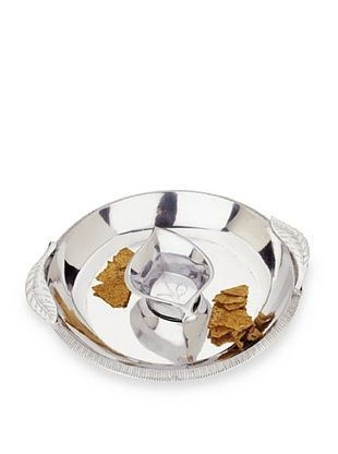 75% OFF Reed & Barton Arbor Collection Chip & Dip Set, Silver