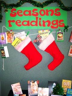 20 Best Images About Library Displays December On