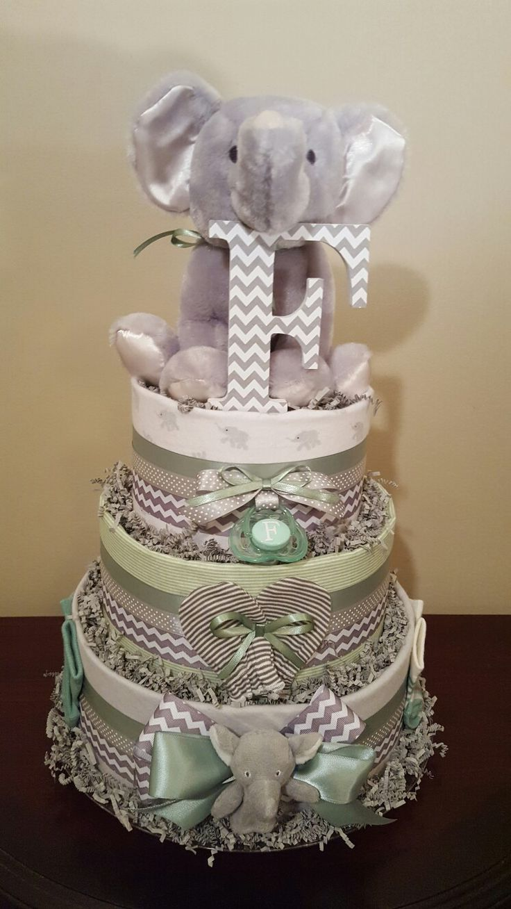 elephant diaper cake 1000 ideas about elephant cakes on 3878