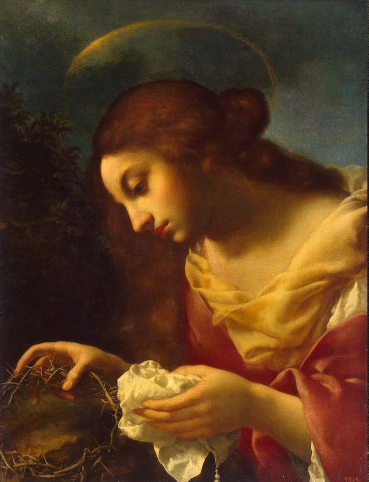 St Mary Magdalene by Dolci Carlo    Beautiful ... and so different !!! So very Sad ....... !