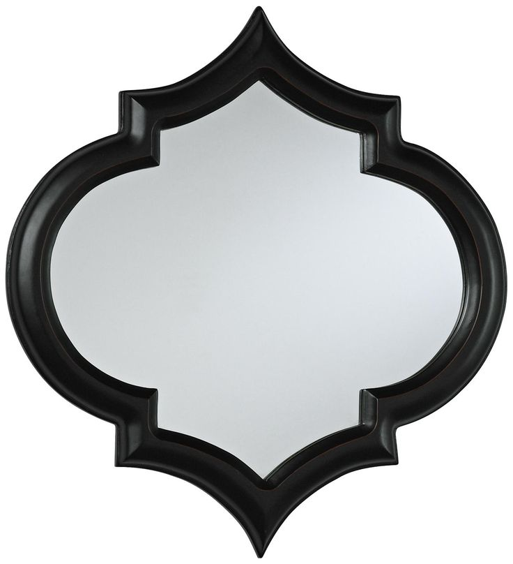 Corinth 18 Quot High Black Decorative Wall Mirror