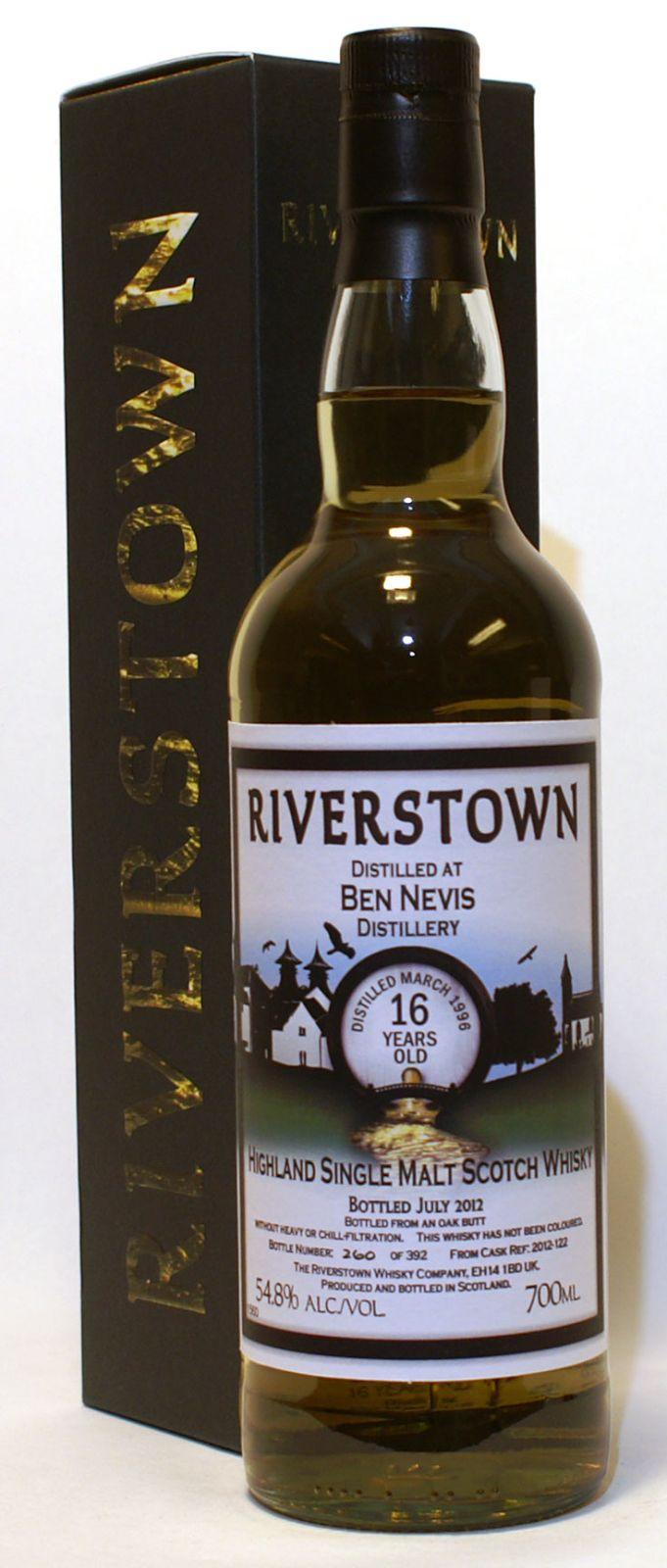 The Whisky Viking: Ben Nevis 16 yo (1996/2012), Riverstown, 54,8 %
