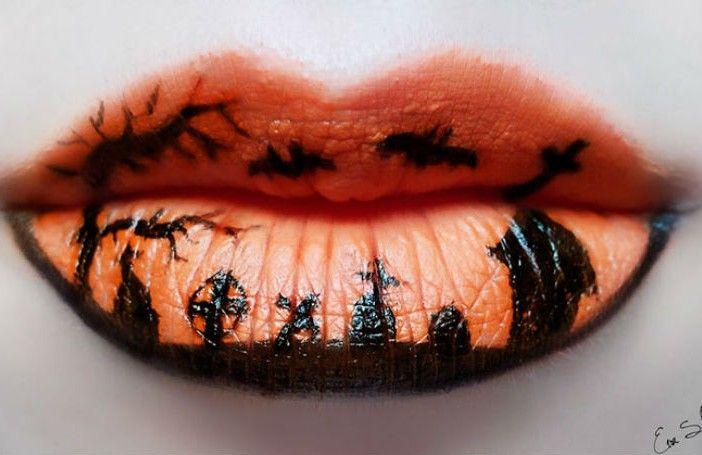 Make-up artiest maakt de tofste Halloweenkunst van haar mond - Froot.nl