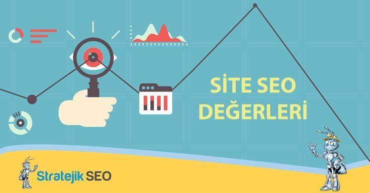 Sitenizin Arama Motorları açısından değerlendirmelerini Site SEO Değerleri SEO Aracı ile inceleyebilirsiniz. Site SEO Değerleri aracımız ile Google Pagerank Sorgulama, Alexa Sorgulama, Google İndex Sorgulama, Yandex, Bing, Yahoo İndex Sorgulama, Google Backlink Sorgulama vb. SEO araçlarına ait sonuçlar elde edebileceğiniz gibi sitenize, sunucunuza ait SEO verilerini de inceleyebilirsiniz.