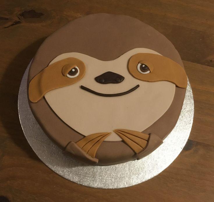 Sloth cake...