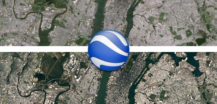 Sabías que Google Maps mejora la definición de su imagen por satélite