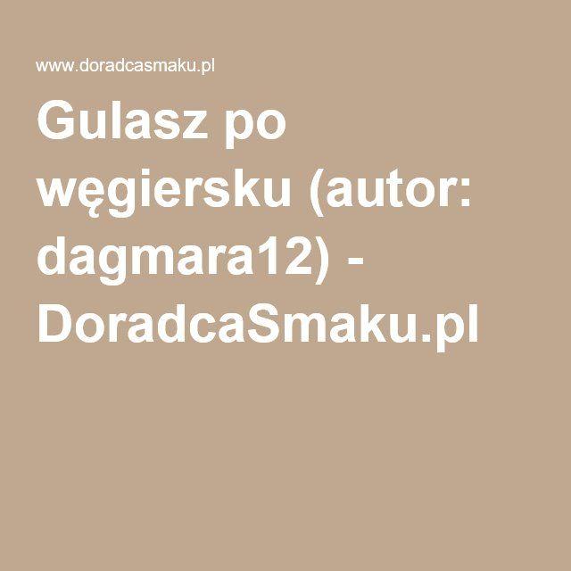 14. Gulasz po węgiersku