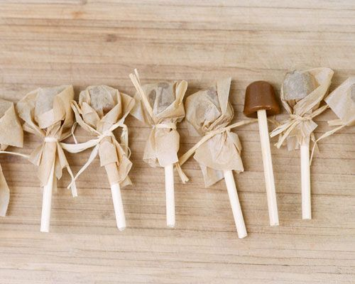 Crack Pops - individually   wrapped caramel lollipops