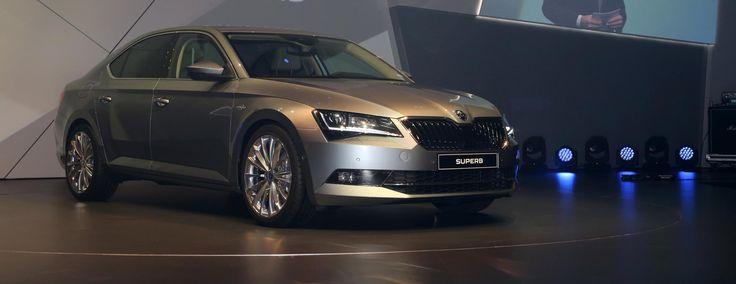 Škoda Superb - ilyenem lesz egyszer http://www.vezess.hu/teszt/skoda-superb-vilagpremier/58656/