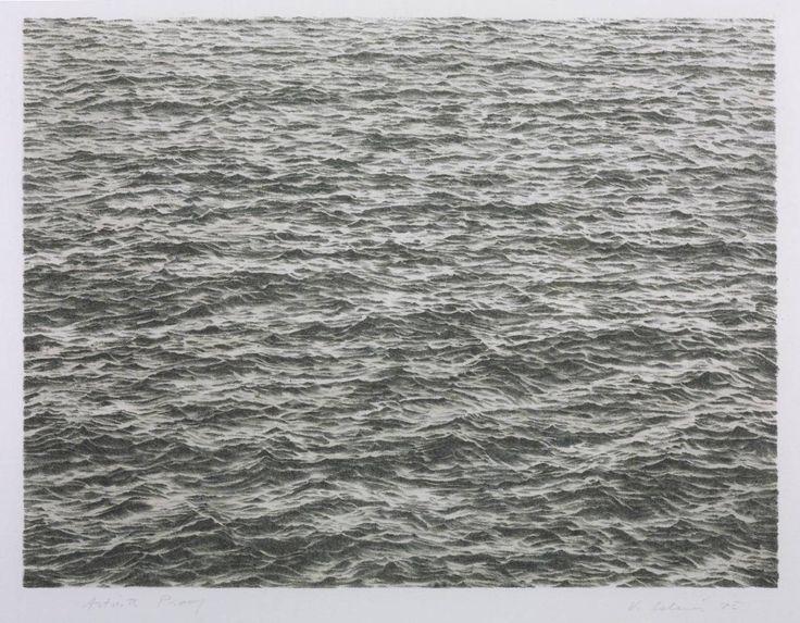 Vija Celmins 'Ocean', 1975 © Vija Celmins